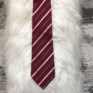 Banana Republic Red Silk Tie